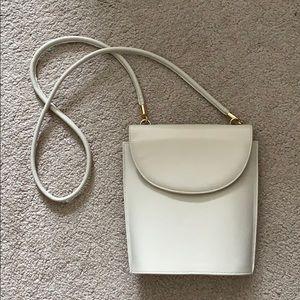 Handbags - Cream Vintage Crossbody Bag